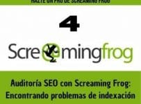 screaming frog problemas de indexacion