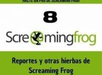 Reportes y otras hierbas de Screaming Frog