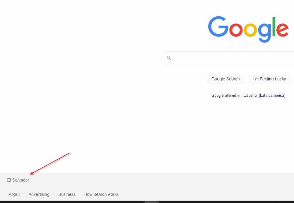 google ncr - geolocalizado