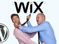 Aumentan las tensiones de Wix y WordPress