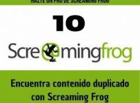 encuentra contenido duplicado con screaming frog