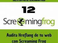 audita hreflang de tu web con screaming frog